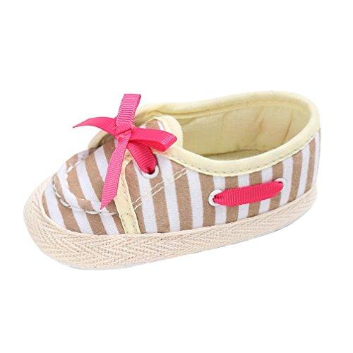 0 Anti Prewalker Baby ~ 18 Soft Beige Cute Longra Kleinkind Auf Slippers Krippe slip Monate Komfort Schuhe Schuhe Slip Babyschuhe pqZ7cT