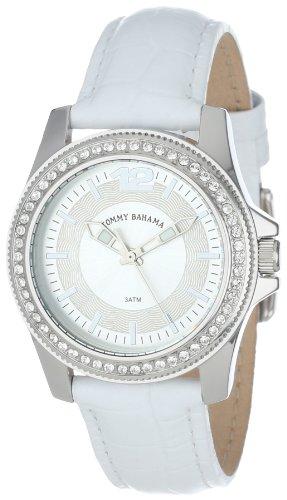 tommy-bahama-swiss-womens-tb2128-riviera-white-strap-silver-stone-bezel-watch
