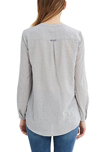 ESPRIT Damen Bluse Blau (Grey Blue 420)