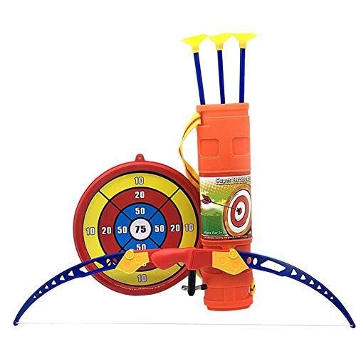 Kinder Bogenschießen Pfeil und Bogen Spielzeug Set mit Ziel, Jagd Serie Spielzeug Bogenschießen Bogen und Pfeil Set mit Ziel und Zubehör Outdoor Garten Fun Spiel -