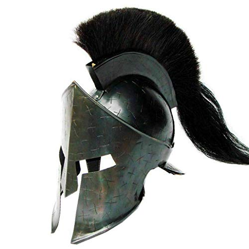 Sara Nautical Black Spartan Helm 300 Spartan Kostüm Movie Helm Spartan Halloween Kostüme