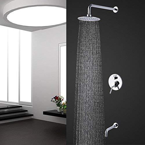 FuweiEncore Unterputz-Duscharmatur mit Wasserhahn und Dusche (Farbe : -, Größe : -)