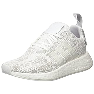 check out cf6a2 6f583 adidas Damen NMD R2 Sneakers Weiß Footwear White Grey Two, 41 1 3 EU
