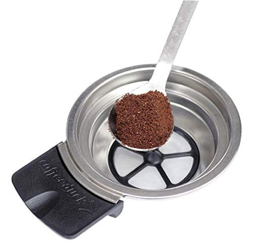 KF Ecopad Coffeeduck nachfüllbarer, wiederverwendbarer Padhalter für Kaffee und Tee, kompatibel mit Senseo Classic HD7800 HD7810, HD7811, HD7812, HD7814, HD7816, HD7818