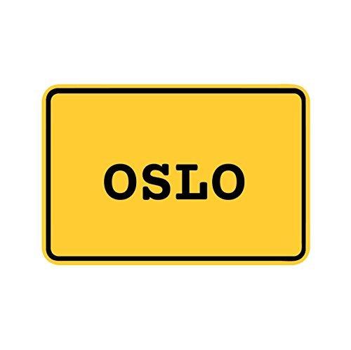 Preisvergleich Produktbild JOllify Aufkleber - OSLO – Farbe: Design: Ortsschild