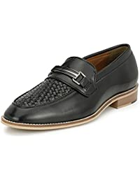 Afrojack Men's Handstiched Slip On Mocassions (leather Sole/burnish Effect/premium Collection/penny Loafers )