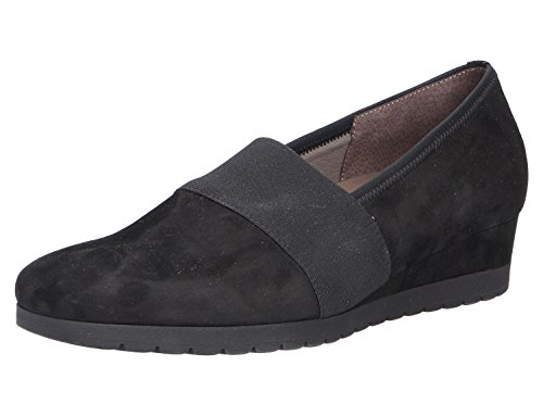 IZONA GABOR PUMP WITH CHUNKY SOLE 72.683 Blk Suede