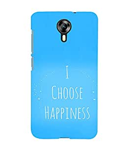 EPICCASE I choose happiness Mobile Back Case Cover For Micromax Canvas Express-2 (Designer Case)