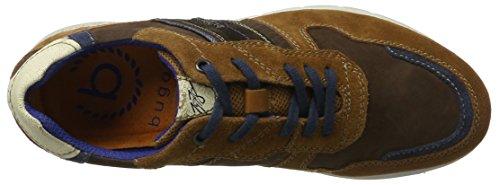 bugatti Herren 322310021415 Sneaker Braun (Cognac / Dark Brown)