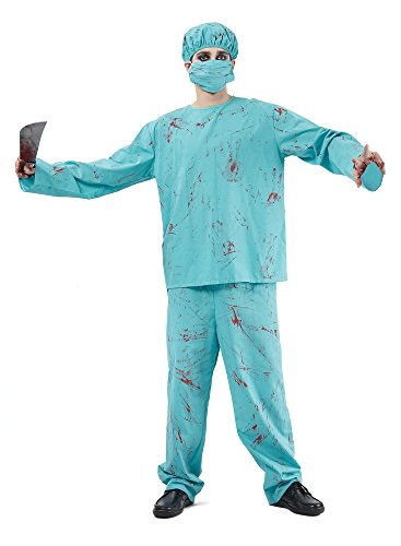 9 Blutiger Chirurg Kostüm ()
