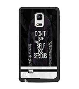 PrintDhaba Quote D-5943 Back Case Cover for SAMSUNG GALAXY NOTE EDGE (Multi-Coloured)