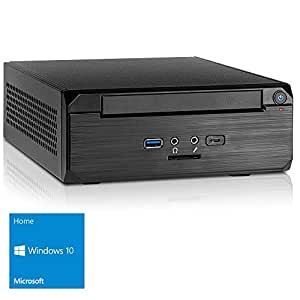 Kiebel Mini PC [184511] Intel Core i5 8400 6x2.8GHz (Turbo bis 4.0GHz), 8GB DDR4, Intel Grafik 630, 1TB SSHD Hybrid, UltraHD(4K), FullHD (1080p), HTPC, LAN, Win10, Energiespar Computer