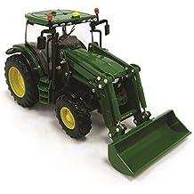 John Deere - Tractor 6215R con pala (Bizak 30692821)