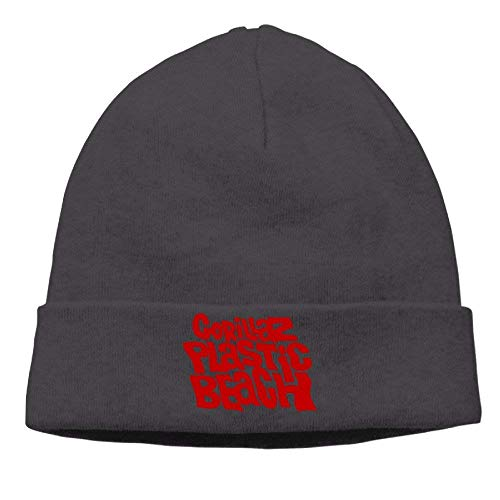 e6e365b191404e chipo Popular Gorillaz Letter Logo Virtual Band Beanie Hat Knit Hat  Cashmere Hat