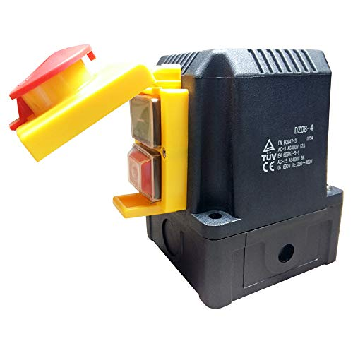 Anbauschalter mit CEE Stecker 400V, Phasenwender NOTAUS Klappe- Baugleich KOA1Y