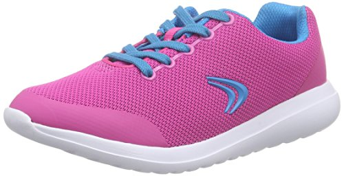 Clarks Kids Sprintzone Jnr, Baskets Basses fille Rose (Pink Combi)