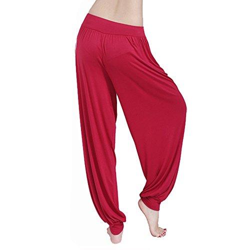 YU'TING Mujer Pantalones Yoga Pantalones Deportivos