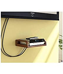 Wooden Set-up Box Stand Wall shelf Color Full