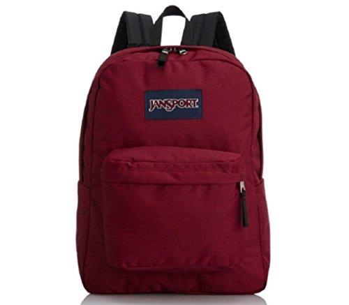 JanSport – Classic Mainstream Superbreak mochila – Multi azul marino Mountain Meadow
