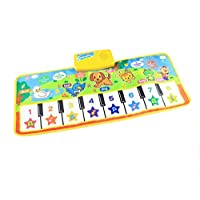 73x28cm Baby Piano Music Play Mat Children Educational Musical Learning Mat Carpet Rug Toys for Kids