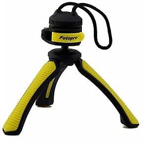 """Fotopro SY310 Mini tableau trépied pour appareil photo numérique avec 1/4 """"vis Interface universelle - Jaune"""