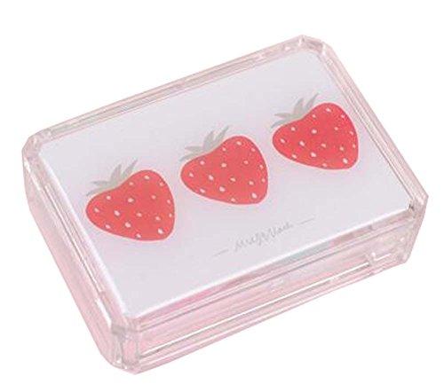 set-of-2-fruit-creative-stylish-contact-lenses-case-storage-holder-strawberry
