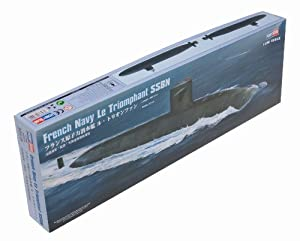 Hobby Boss 83519 Le Triomphant SSBN - Submarino francés a escala 1:350 Importado de Alemania