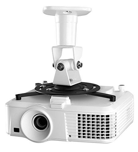 One For All Universalhalterung für Projektoren /Beamer – Max Gewicht 15kg - Voll beweglicher Befestigungskopf -  schwarz/weiß – WM5320