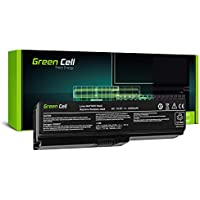 Green Cell® Standard Series PA3817U-1BRS Battery for Toshiba Satellite C650 C650D C655 C660 C660D C670 C670D L750 L750D L755 Laptop (6 Cells 4400mAh 10.8V Black)