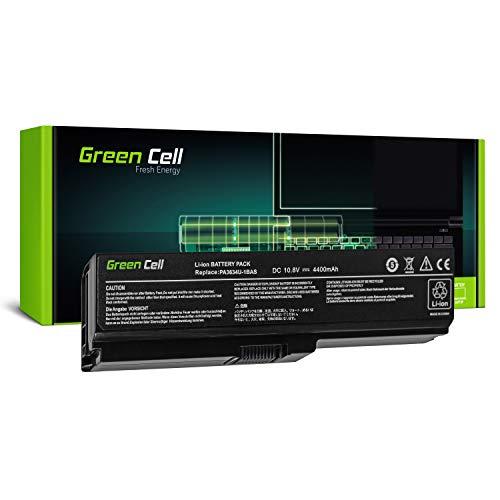 Green Cell® Standard Serie PA3817U-1BRS Laptop Akku für Toshiba Satellite C650 C650D C655 C660 C660D C670 C670D L750 L750D L755 (6 Zellen 4400mAh 10.8V Schwarz)