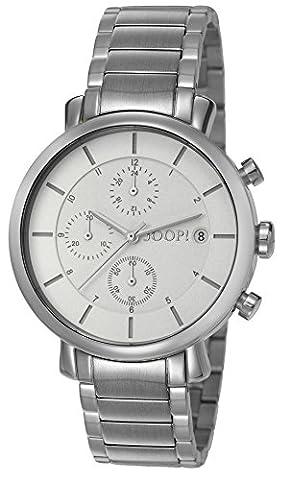 Joop! Damen-Armbanduhr Emma Chronograph Quarz Edelstahl JP101772004 (Chronograph Metal-band)