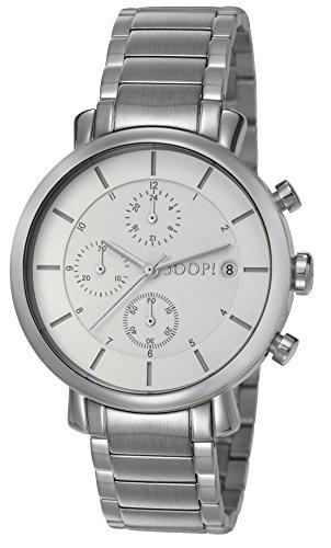 Joop! Damen-Armbanduhr Emma Chronograph Quarz Edelstahl JP101772004