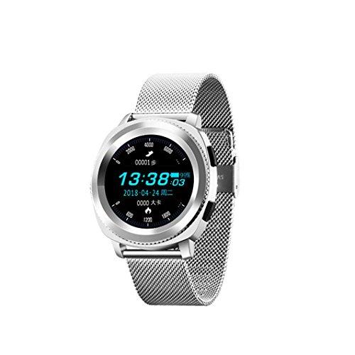and Bluetooth Fitness Aktivität Herzfrequenz-Tracker Unisex Blutdruckuhr ()