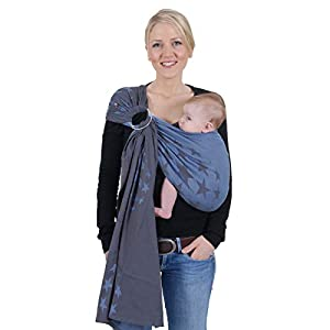 Hoppediz Ring Sling (Jacquard Los Angeles Blue)   12