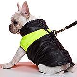 Cappotto per cani TFENG, giubbotto imbottito con imbottitura calda impermeabile, giubbotto D-Ring con felpa, impermeabile per cani, taglia S - 5XL