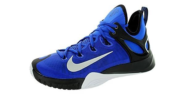 a1a40c9211af1 NIKE Chaussure de basket-ball NIKE Hyper Zoom HyperRev 2015 pour Homme -  Bleu Noir - 44.5  Amazon.fr  Chaussures et Sacs