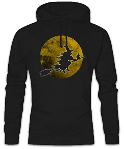 (Urban Backwoods Witch Moon Hoodie Kapuzenpullover Sweatshirt - Größen S - 2XL)