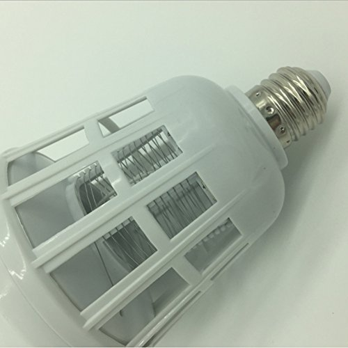 Elektronische Moskito-Lampe Großhandel Led-Laufwerk Mücke Photokatalytische Moskito-Mörder-Elektroschock-Moskito-Köder-Lampe ( Color : Weiß ) (Bug Elektrische Repeller)