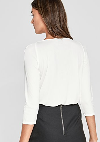 s.Oliver BLACK LABEL Damen Langarmshirt soft cream