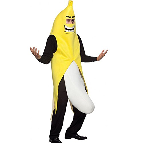 Maboobie - Disfraz de plátano salido para adulto Disfraz Banana Fruta para...