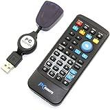 Infrarot Mini Neu Kabellos USB PC Laptop Fernbedienung Media Center-Steuerung
