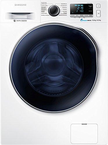 Samsung WD90J6400AWEG Waschtrockner /1224 kWh / 9 kg / Weiß Diamond Pflegetrommel
