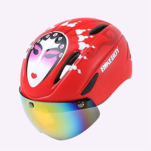 HKYMBM Fahrradhelm, Fahrradhelm Brille Männer Und Frauen Rennrad Mountainbike Helm Brille, Geeignet Für Outdoor-Reiten,C