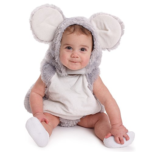 Dress Baby Up Kostüm - Dress Up America Säugling Squeaky Maus Halloween Rollenspiel Kostüm