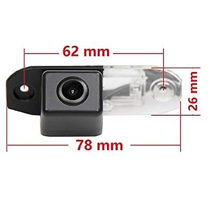 Rckfahrkamera-KFZ-Rckfahrsystem-Distanzlinien-Kennzeichenleuchte-fr-Volvo-S90-S80LS40LS80S40-S40L-V30-V40-V50S60V60XC90XC60XC70-2-x-Screw-Style