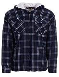 Hoang Textil GmbH Thermohemd Arbeitsjacke Herren Holzfäller Wärmeisolierend, Farbe:schwarz, Größe:XL