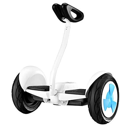 """ZGYQGOO Hoverboard Elektro Intelligente Selbstausgleichs Auto Erwachsene Kinder Zweirad 10\""""Selbstausgleich Roller Bauen mit Bluetooth-Lautsprecher für Kinder und Erwachsene (Fußschalter)"""