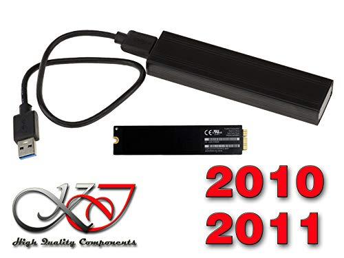 Kalea Informatique© - Gehäuse für SSD Mac Air 2010 2011 auf USB3 (USB 3.0 SuperSpeed) - Für SSD von MAC in 6+12 Pin (MC505 MC506 MC965 MC968) -