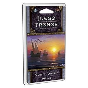 Fantasy Flight Games- Juego de Tronos lcg: Viaje a Antigua - español, Color (FFGT24)