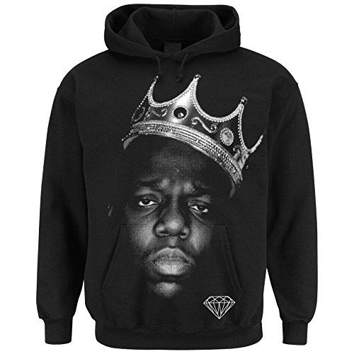 DOPE DIAMOND  Notorious King black hoodie (M) Diamond Hoodie Pullover